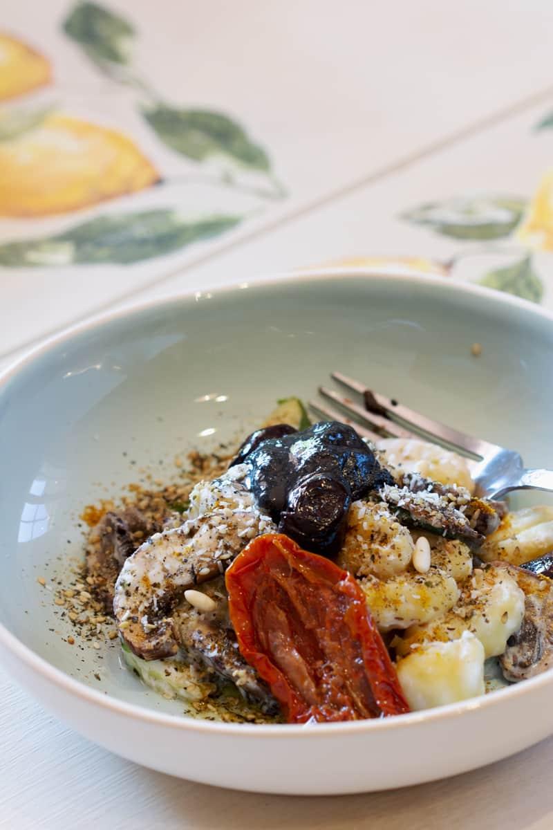 Gnocchis sans gluten aux légumes et coco