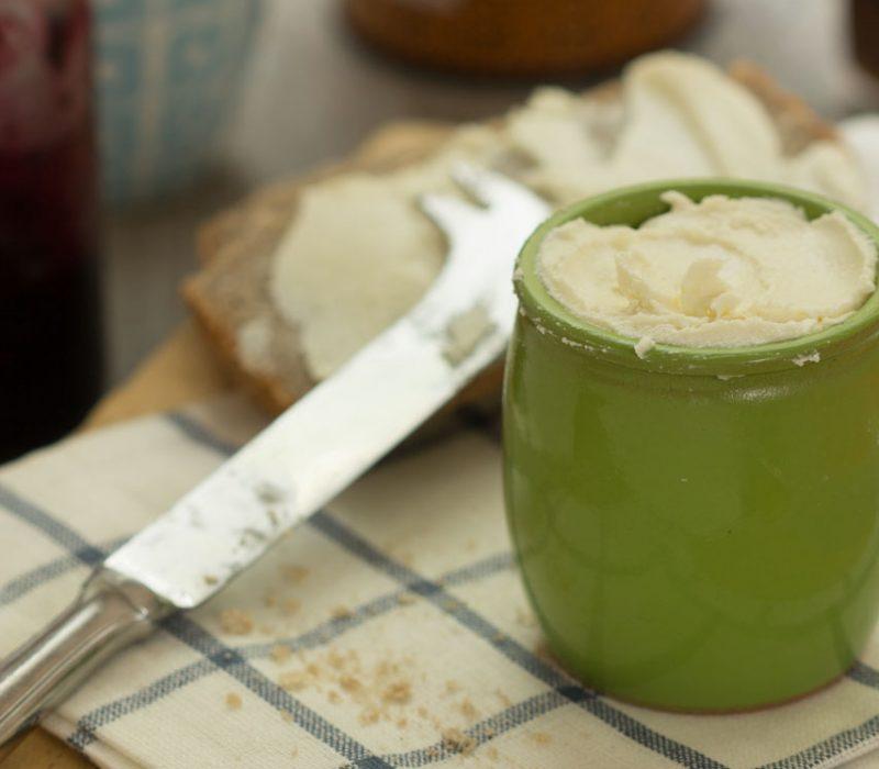 Margarine sans huile de palme